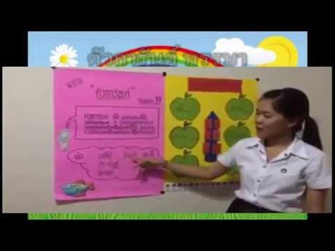 สื่อการสอนภาษาไทยป.4 เรื่องตัวการันต์