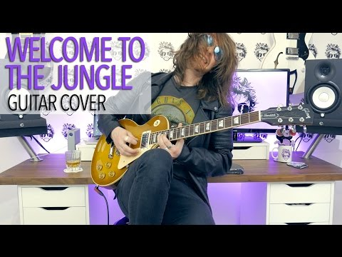 Welcome To The Jungle - Guns N' Roses (Guitar Cover)