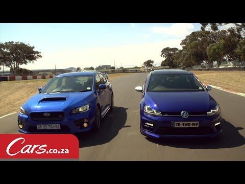 Drag Race: VW Golf 7 R vs Subaru STI