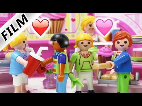 Playmobil Film Deutsch - VALENTINSTAG DOPPELDATE! DAVE & HANNAH WIEDER ZUSAMMEN? Familie Vogel