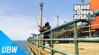 GTA5 바다에서 좀비를 낚다?! 낚시모드 - GTA5 Mod Showcase: Fishing Mod