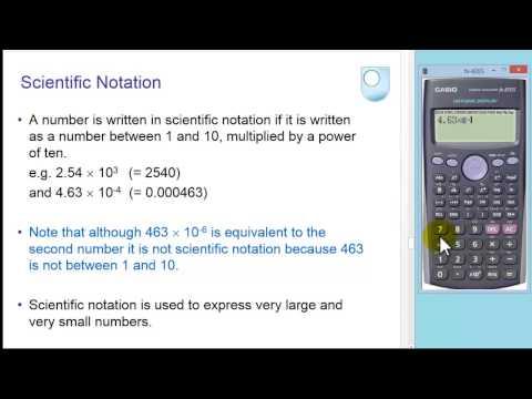Using Your Scientific Calculator