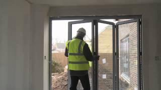 Self Build A Potton Barn Update 7 - Scaffolding Down, Lifetime Homes & Underfloor Heating