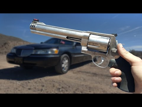 Will a .500 Magnum Blow Out a Car Window?