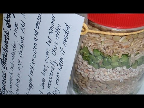 Easy Layered Patchwork Soup Mix Recipe