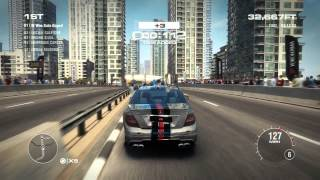 GRID 2 PC Gameplay [HD] - Mercedes-Benz C63 AMG on Nixon Checkpoint Series, WSR Season 3