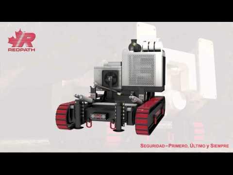 REDTRAX Raise Drill Transporter