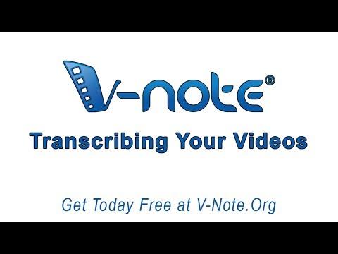 Transcribing Your Videos
