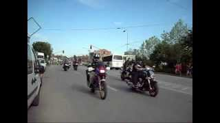 17. MOTO SUSRET 2012 Sremska Mitrovica - DEFILE