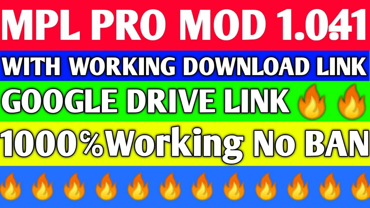MPL PRO MOD APK 1 0 41 | With Working Download Link🔥🔥