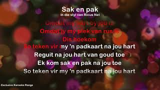 Sak En Pak - ProTrax Karaoke Demo