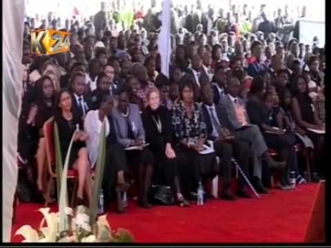 President Kenyatta's speech during Nicholas Biwott Burial