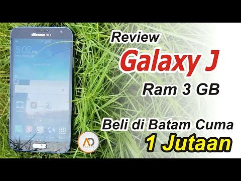 REVIEW Samsung Galaxy J RAM 3 GB Beli Di Batam Cuma 1 Jutaan...