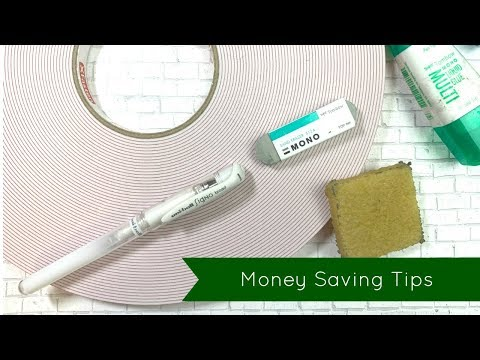 Money Saving Tips and Cardmaking Hacks