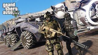 ГТА 5 МОДЫ! ФАНТАСТИЧЕСКАЯ ПОЛИЦИЯ БУДУЩЕГО в GTA 5!