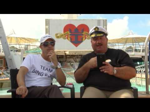 Bing Bong Marc Walker Cruise Director Interview with Captain Chris P Bacon