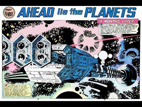 2001: A Space Odyssey Treasury Edition (Jack Kirby art)