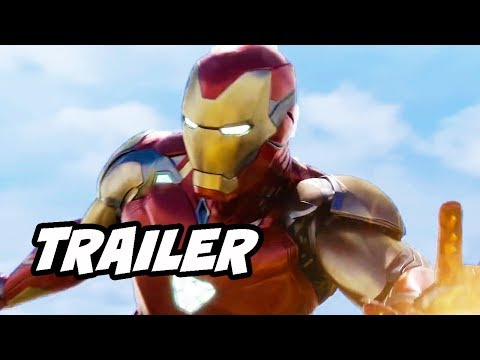 Avengers Endgame Trailer Special Look Easter Eggs Breakdown