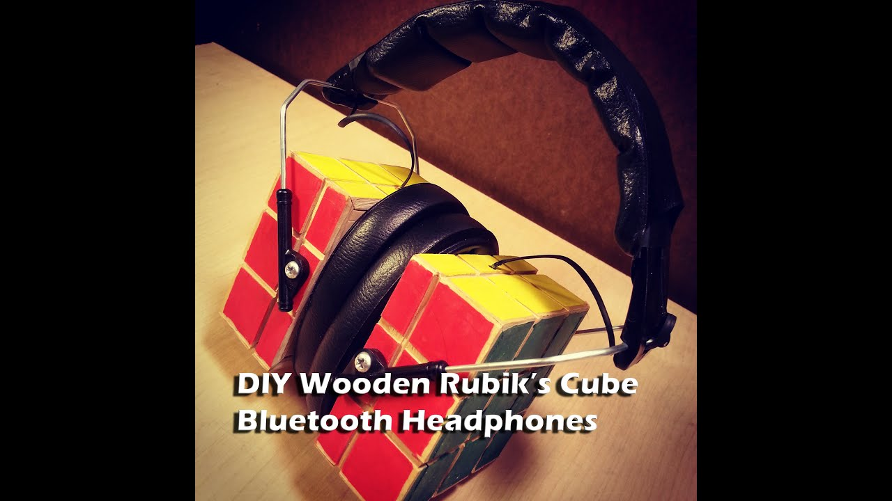 Wooden Rubik's Cube Bluetooth Headphones: 10 Steps (with Pictures)