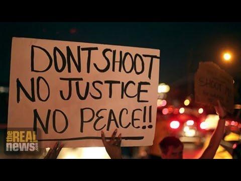Ferguson Protestors Defy Curfew, Tear Gas To Demand Justice for Michael Brown