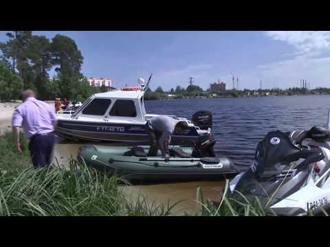 Гольфстрим. Тест лодки и мотора.
