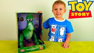 Динозавр REX из мультфильма История Игрушек / REX RAPLANT - Toys from Toy Story