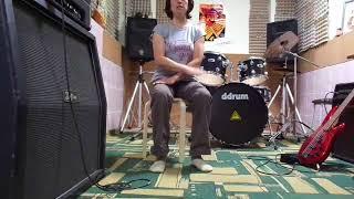 самый простой бит на барабанах (учим без барабанов)