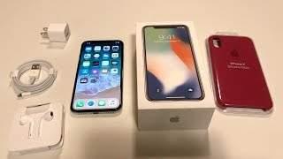 iPhone X Unboxing: Silver! (iPhone 10)