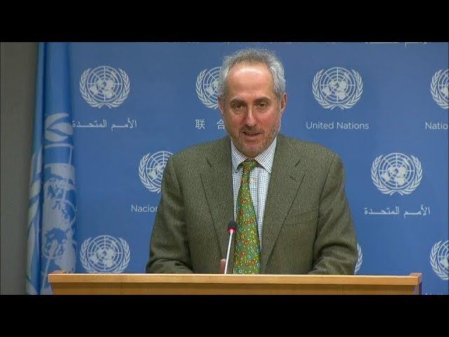 Un Chief attends closing ceremony of ICTY & other topics - Daily Briefing (21 December 2017)