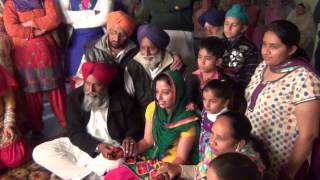 SIKH MARRIAGE CEREMONY - 17 -- CHOODA (BANGLES) CEREMONY - 3