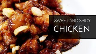 SWEET AND SPICY CHICKEN/QUICK CHICKEN RECIPES/BEST CHICKEN RECIPES STEP BY STEP
