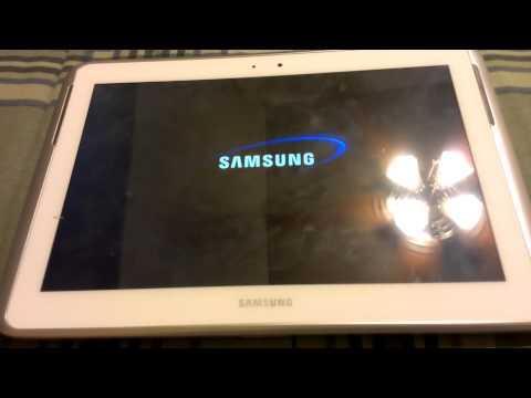 Samsung tablet touch screen not responding
