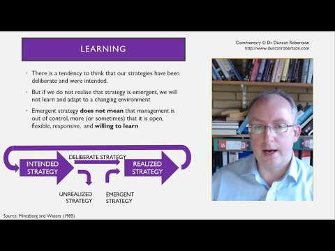 Schools of thought in strategic management fragmentation integration or synthesis