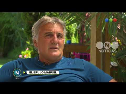 """A solas con """"El Brujo"""" Manuel  - Telefe Noticias"""
