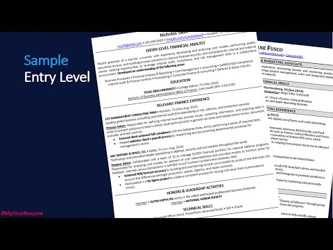 How To Write A Recent College Graduate Resume