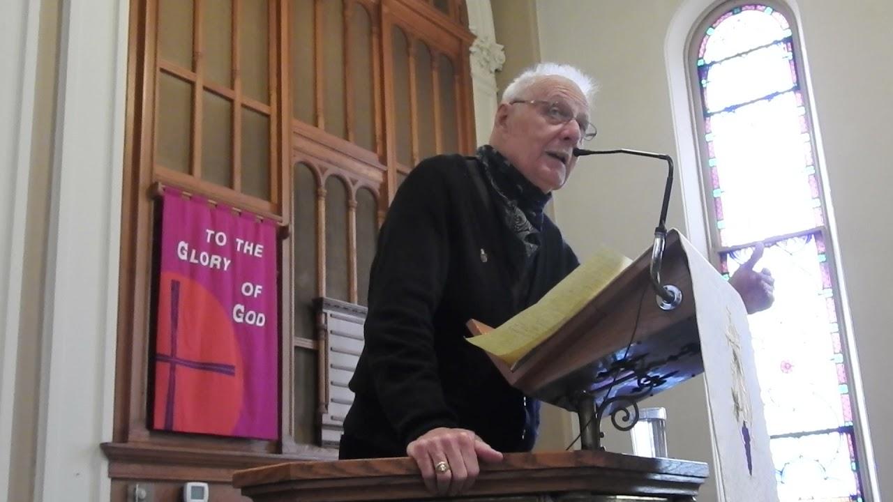 April 18 Sermon by Pastor Hal Fox