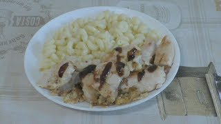 Куриное филе с кунжутом