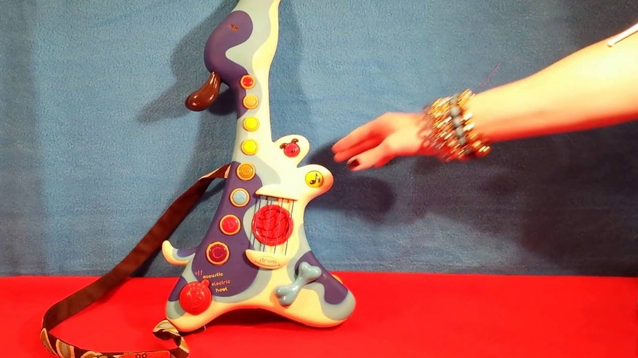 Toy Guitar Target Woofer Hound Dog Musical Toy Guitar By B Toys