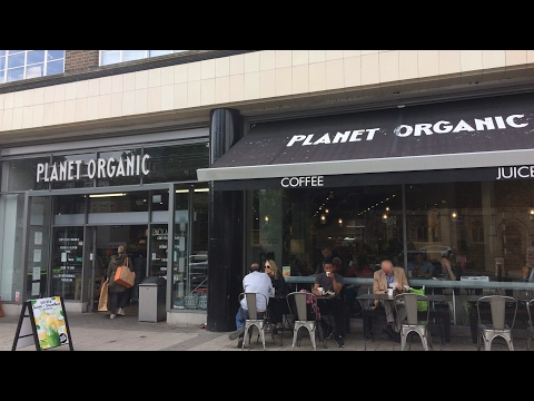 Walk in Muswell Hill and Planet Organic