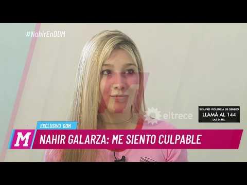 Nahir Galarza habló del abuso que sufrió y contó si siente culpable o no