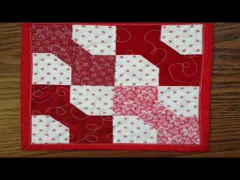 simple quilting projects bow tie quilt pattern layouts - YouTube : tie quilt pattern - Adamdwight.com