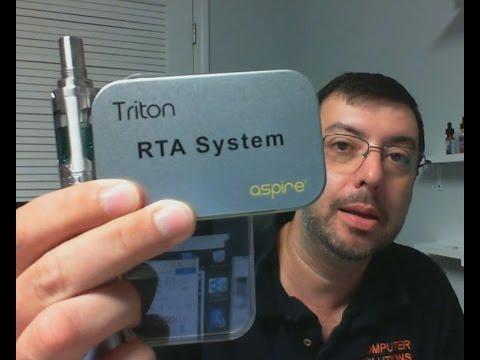 Aspire Triton Tank & RTA section Review