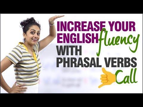 Improve your English Fluency with Phrasal Verbs. | Speak Fluent English | Spoken English Lessons thumbnail