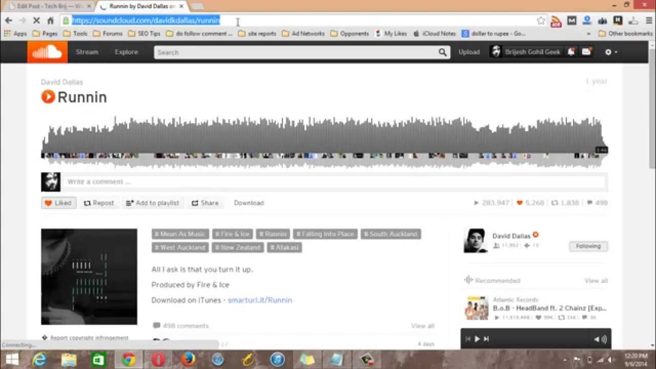 How to download songs from soundcloud to pc and mobile 100 how to download songs from soundcloud to pc and mobile 100 working method youtube ccuart Choice Image