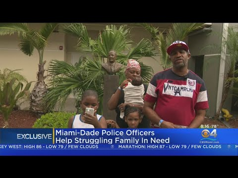 Sylvia Chacon - Police Officers chip Help Homeless Family of 5 Get Back on Their Feet