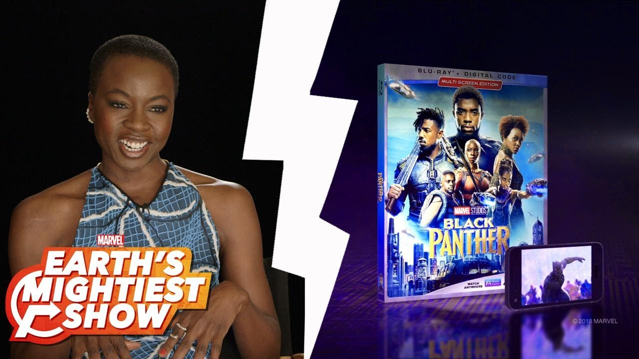 *EXCLUSIVE* Sneak Peek at Marvel Studios' Black Panther Extra and more | Earth's Mightiest Show