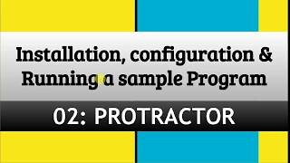 Protractor tutorial 3- How to Install Protractor On Windows