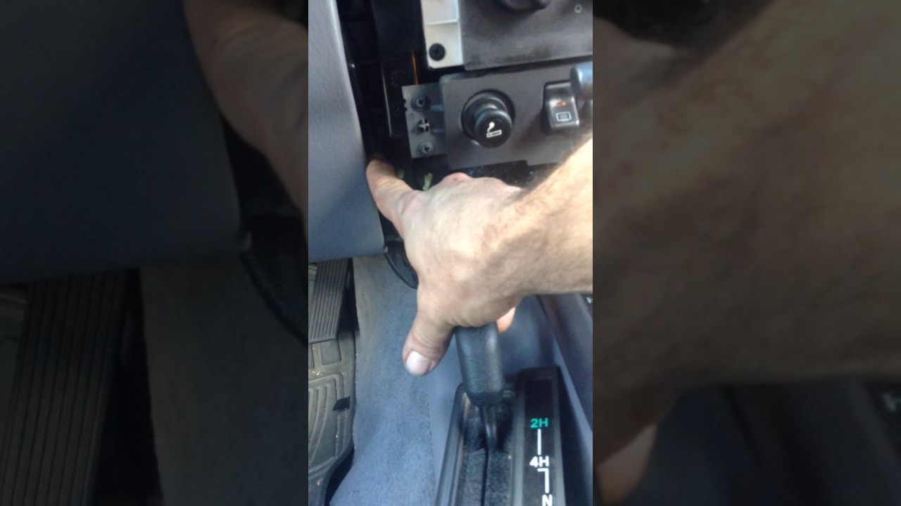 98 Jeep Cherokee Heater Core Removal