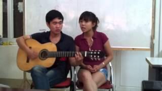Áo xanh. By - Ninh Makuco and Hoang guitar