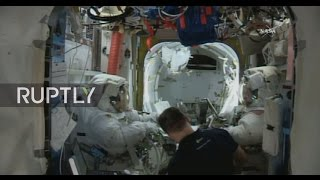 LIVE: Expedition 50 astronauts conduct first spacewalk of the year